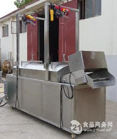 青豆全自动油炸机 休闲食品油炸线