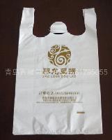 潘家烤鸭背心袋  诸城烧肉塑料袋定制印刷