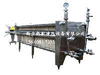 供应明胶过滤机【新乡新航】板框硅藻土过滤机厂家