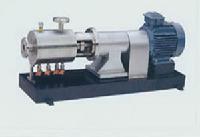 三级管线式高剪切分散乳化泵