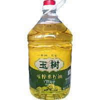 非转基因玉树一级压榨菜籽油食用油纯菜油