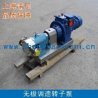 TR52系列不锈钢转子泵 无极调速转子泵