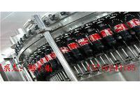 小型三合一瓶装碳酸饮料灌装机