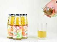 传统珍品 天然保健 虫草柿子醋饮300ml