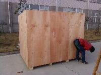 煙臺大型機械出口包裝箱