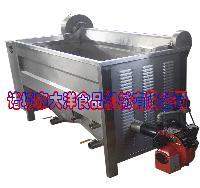 燃气油炸机械,自动花生米油炸机械