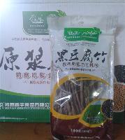 纯手工制作160克*24包振豫牌黑豆原浆腐竹(营养保健)