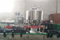 小型沖洗、灌裝、旋蓋分體飲料生產線