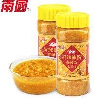 南国食品 黄辣椒酱 香辣型 500g 全国招商