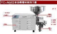 YC-860不锈钢五谷杂粮磨粉机