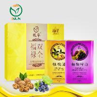 鯤華 核桃油+葡萄籽油 1000ml*2瓶 禮盒裝
