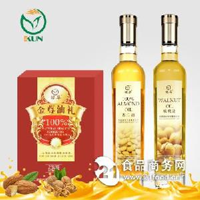 鯤華 核桃油+杏仁油 500ml*2瓶 禮盒裝