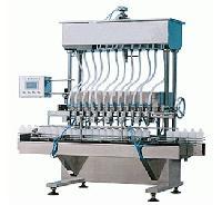 洗涤液专用定量装置全自动8头洗液自流灌装机