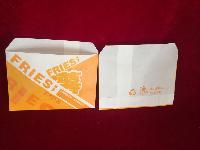 120薯条袋 食品包装袋 防油纸袋 薯条包装 支持加工定制