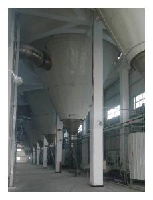 燃氣熱風爐100型高塔噴霧干燥制粒機