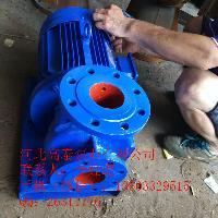 管道泵厂家 ISW80-100IA卧式直联离心泵