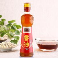 味之轩调味品厂家直销芝麻香油300ml优质原料白芝麻香油