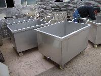 食品加工车间专用不锈钢槽车型号