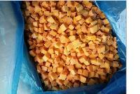 厂家直销优质速冻南瓜丁 密本品种南瓜