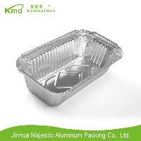 RFF200肯麥多環保鋁箔餐具長方形錫紙菜盒航空午餐餐盒