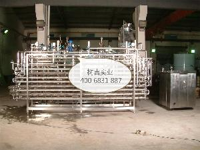 纯牛奶管式杀菌机