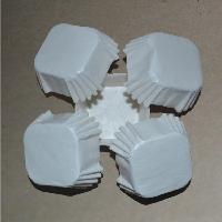 防油半透明正方形蛋糕纸托杯