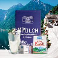 奥地利进口---格梦顿全脂纯牛奶200ml*27