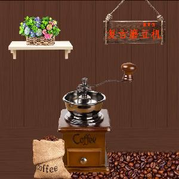 圣朵斯复古家用实木手动咖啡研磨机