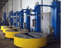 上海徳目圆筒式缠绕包装机无纺布全自动缠绕膜包装机包邮