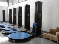 上海徳目叉车式缠绕包装机M型缠绕膜机托盘缠绕机包邮