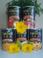 黄桃罐头 425g*12罐 达曼德系列