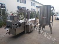 专业生产东北锅包肉上浆挂糊 油炸机成套设备