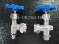 厂价直销多款式G,NPT螺纹考克,液位计仪表阀JX29W-160P DN20