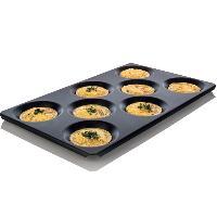 蒸烤箱专用GN八孔煎蛋 多功能煎烤盘不粘