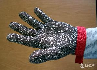 肉类用不修钢防割手套   不锈钢防割防护用手套