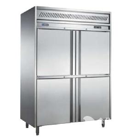 贝柯四门风冷冰箱K2N-E  四门GN商用冷冻柜