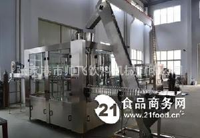 全自动果汁饮料灌装机生产线