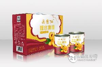 每赛仙糖水黄桃罐头820g*6罐尊享版礼盒装