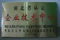 湖北省认定企业技术中心