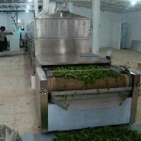 脱水蔬菜微波干燥杀菌机