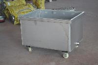 供應肉類等食品加工車間專用不銹鋼槽車